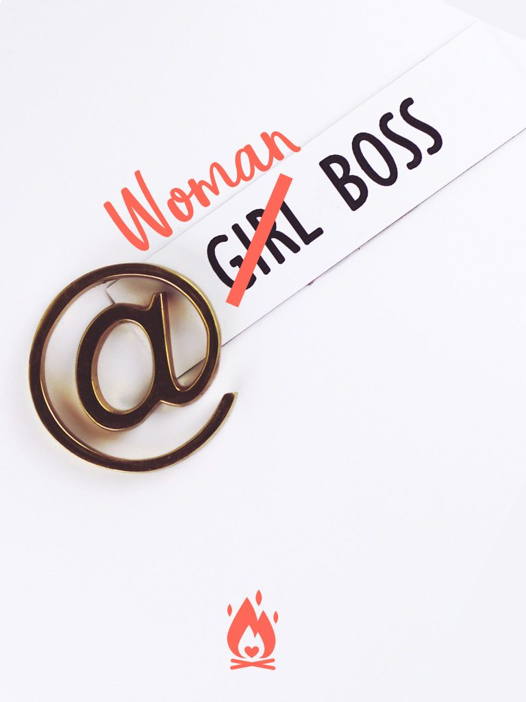 WomanBoss Digital Wallpaper