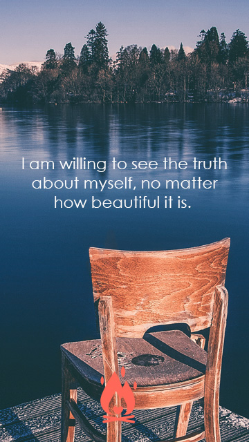 see the truth Digital Wallpaper