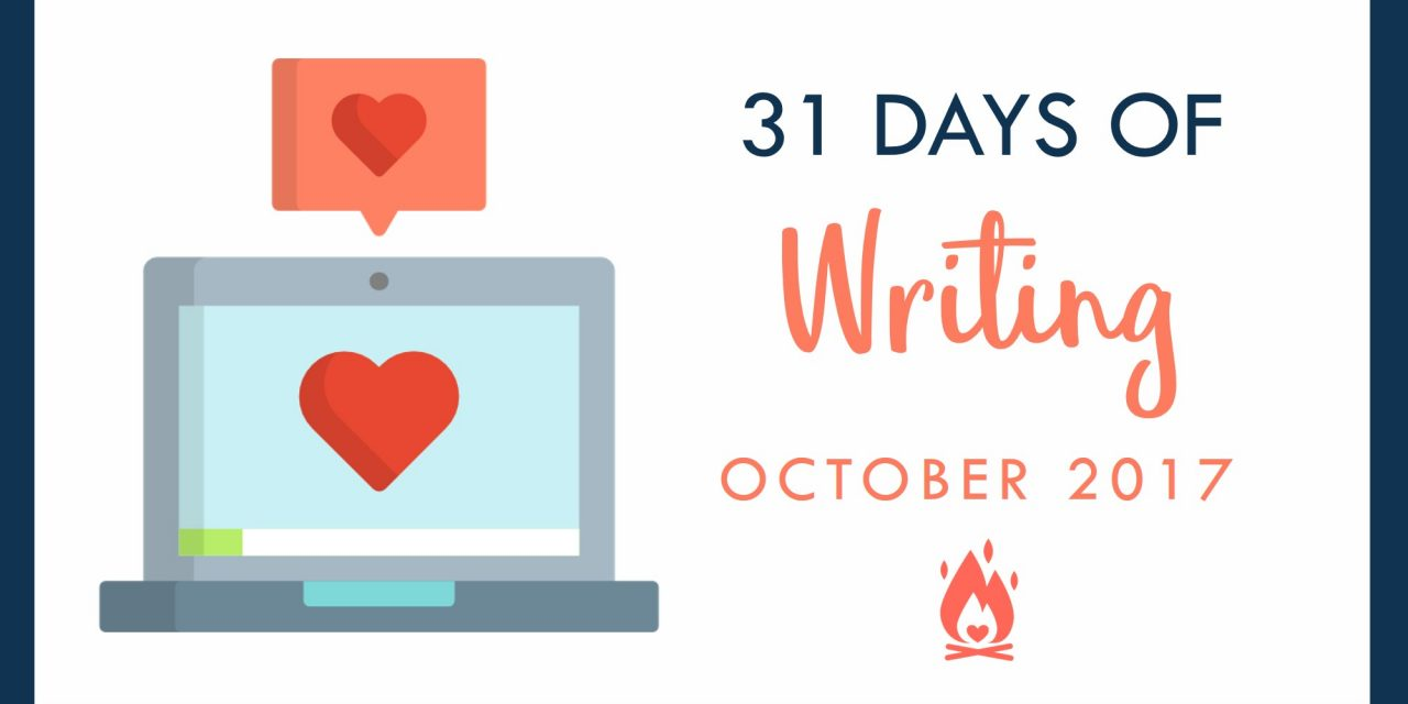 31 Days of Writing | Day 18 :: Share