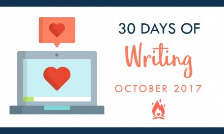 31 Days of Writing | Day 3 :: Create