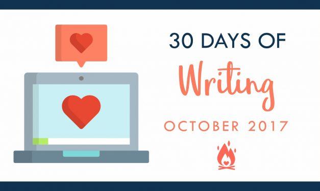 31 Days of Writing | Day 9 :: Plan