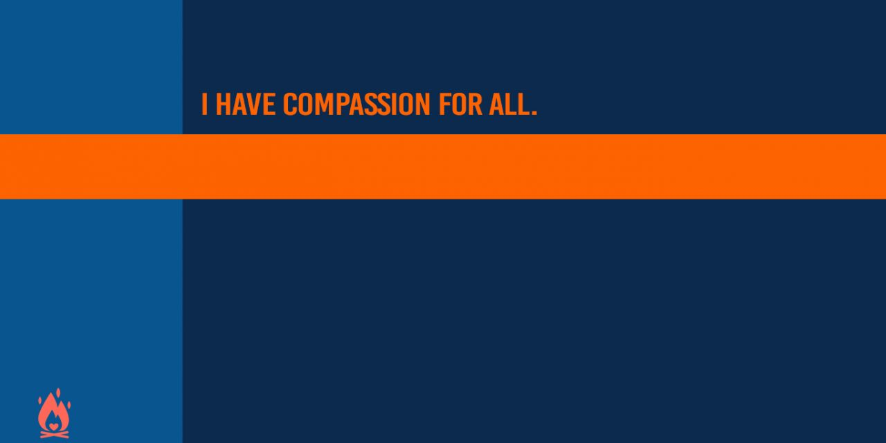 #WallpaperWednesday | Compassion for all.