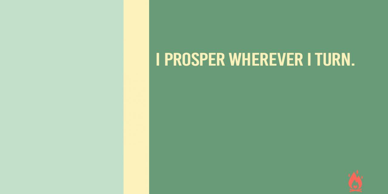#WallpaperWednesday | I prosper