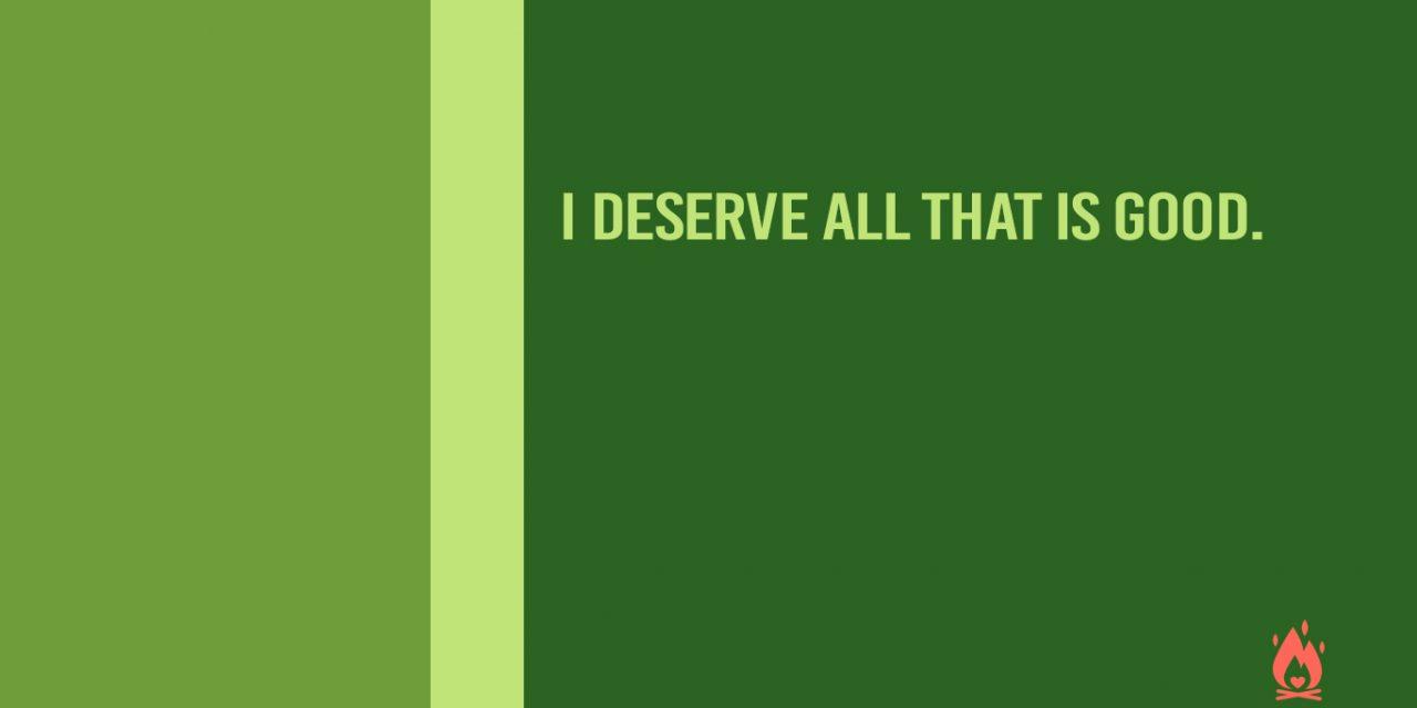 #WallpaperWednesday | I deserve