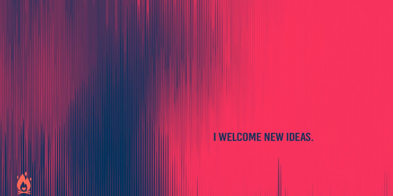 #WallpaperWednesday | Welcome new ideas