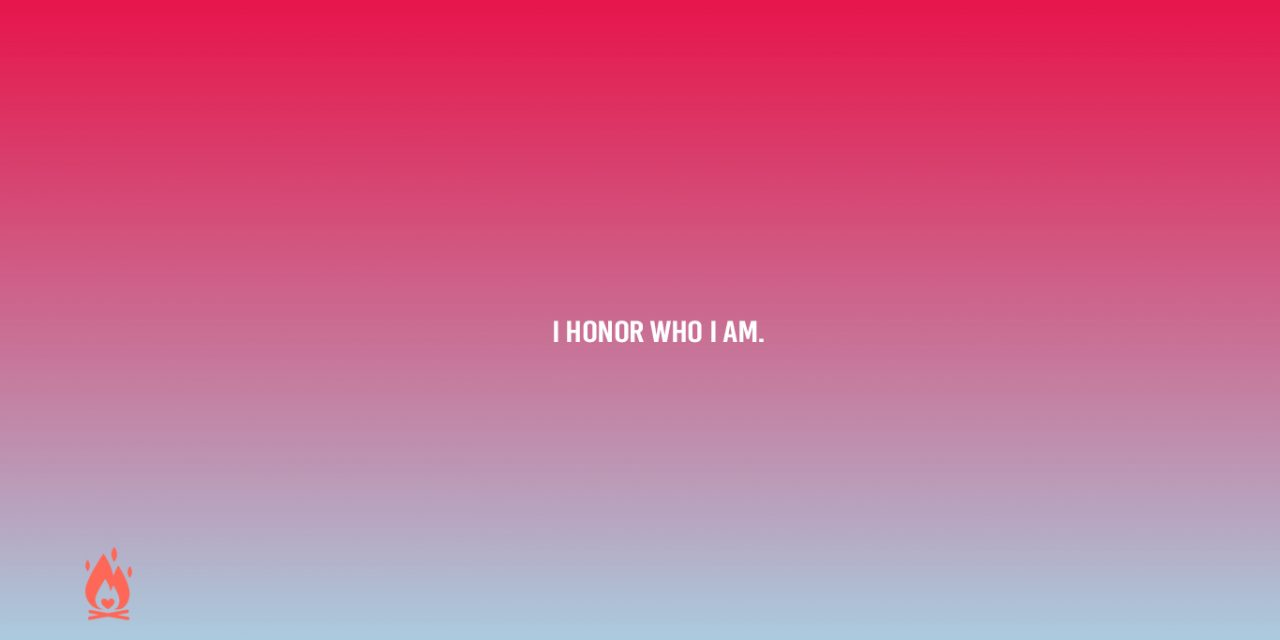 #WallpaperWednesday | Honor who I am.