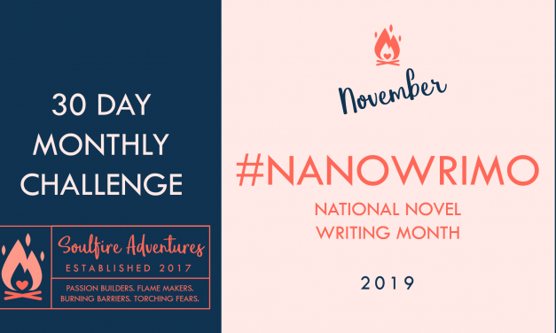 November's Monthly Challenge | Writing Daily