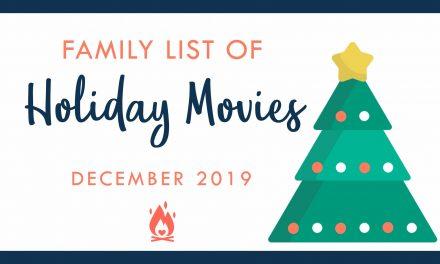 Holiday Movie Bucket List – Family Edition